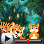 G4K Tiger And Cub Rescue Game Walkthrough