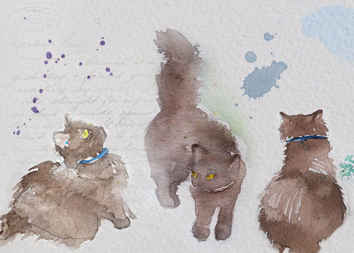 Pouchkine Watercolor Sketchbook
