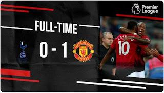 Tottenham Hotspur vs Manchester United 0-1 Video Gol Highlights