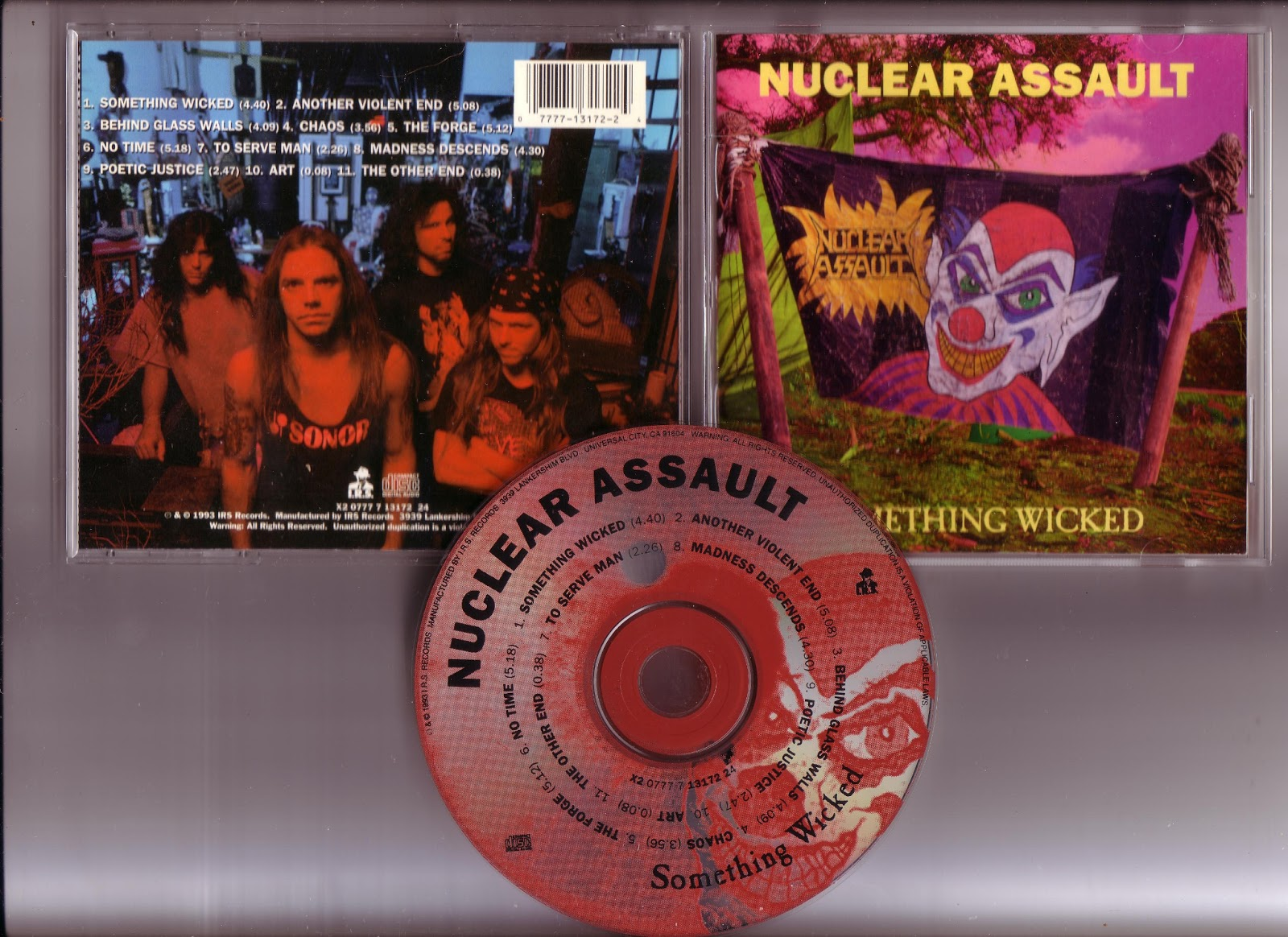 Source of Steel: Nuclear Assault - Something Wicked