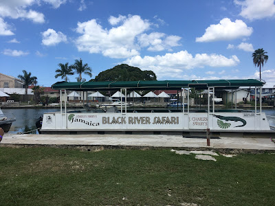 Jamaica black river safari sign on boat, Chevy Takes The Mic Jamaican Travel Blog Series Adventures in St. Elizabeth