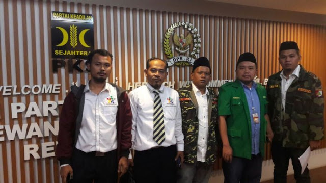GP Ansor Datangi DPR Mencari Fraksi Penolak Perppu Pembubaran Ormas
