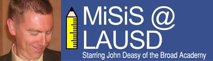The LAUSD MiSiS cRiSiS is Deasy's Disaster.