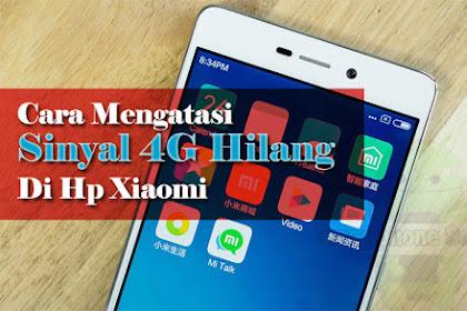 Solusi Hidangan Jaringan 4G Miui 8 Hilang Di Xiaomi Redmi 3