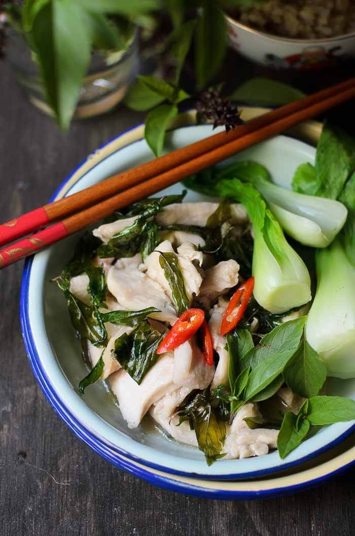Chicken Thai Basil Stir-fry