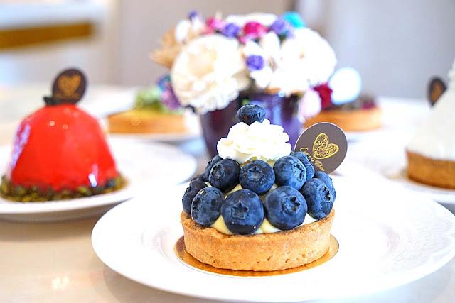 DSC02004 - 熱血採訪│隱藏在台中七期的藍帶甜點,金心盈福Cuore D'oro法義甜點