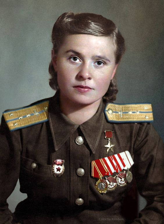 Maria Dolina Soviet Night Witches worldwartwo.filminspector.com Maria Dolina