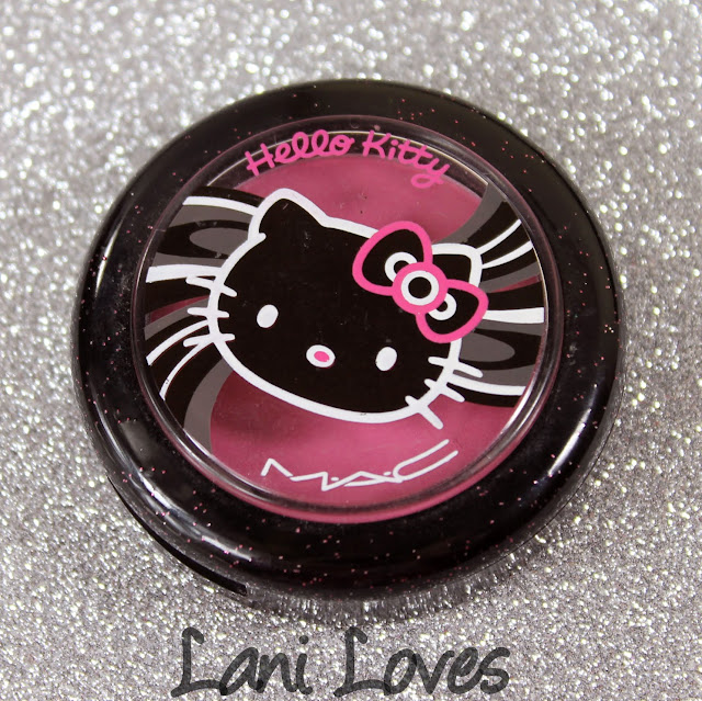 MAC Monday: Hello Kitty - Tippy Beauty Powder Blush Swatches & Review