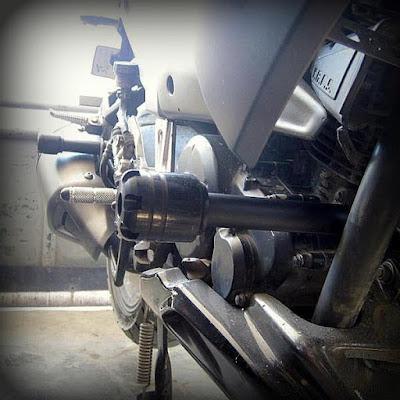 Frame Slider Yamaha Byson