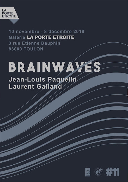 Flyer de l'exposition Brainwaves - recto