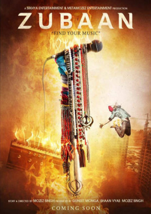 Zubaan 2016 Full HDRip 720p Hindi Movie Download