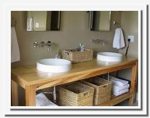 open shelf bathroom vanity plans