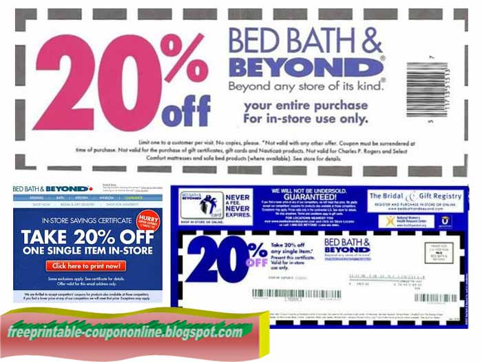Printable Coupons Blogspot Bed Bath And Beyond