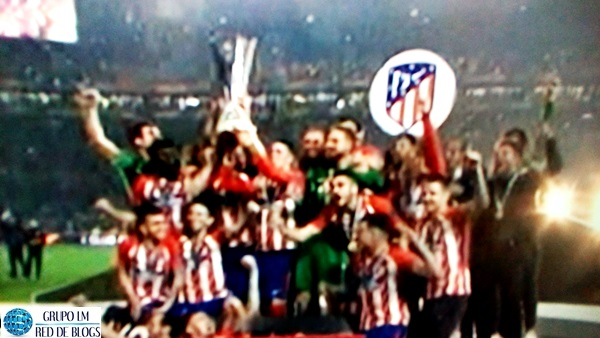 ATLÉTICO DE MADRID CAMPEÓN EUROPA LEAGUE