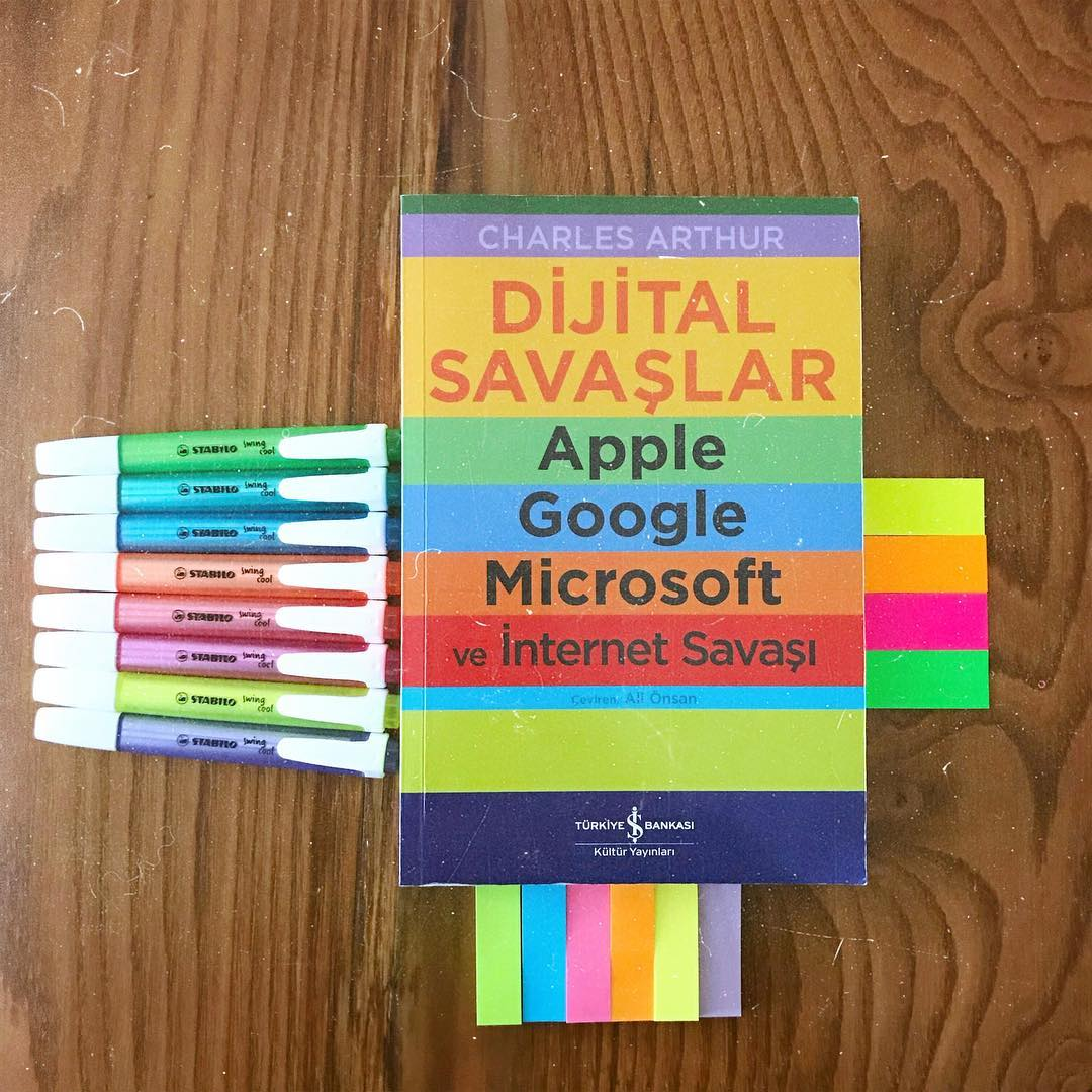 Dijital Savaslar - Apple, Google, Microsoft ve Internet Savasi (Kitap)