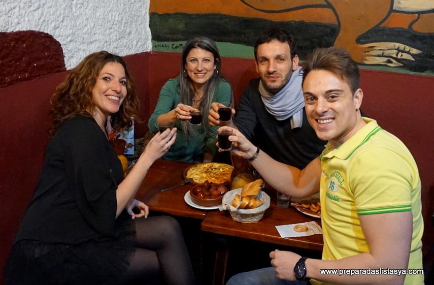 Cena Mesón de la Tortilla