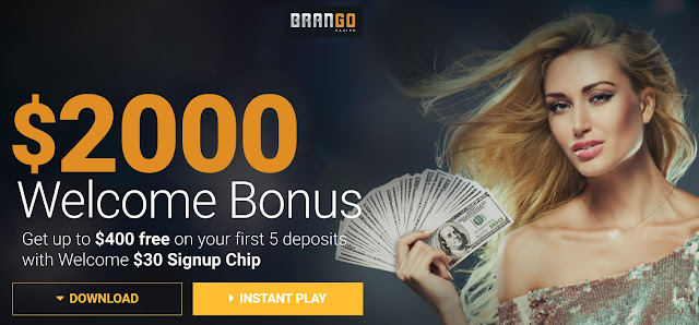 Casino brango Welcome Bonuses