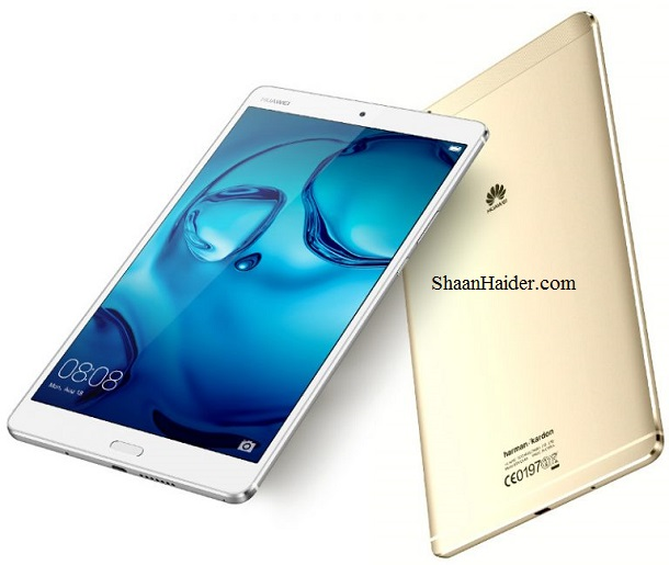 Huawei MediaPad M3 Android Tablet : Full Hardware Specs, Features, Price and Availability