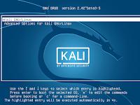 Mengatur Waktu Timeout Grub Loader Kali Linux