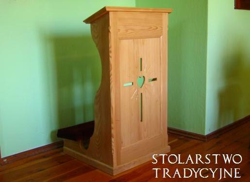 drewniany klęcznik
