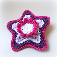 free crochet patterns, stars, starbursts, starshine, motifs, how to crochet,