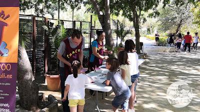 Talleres infantiles en el Parque de Consolación de Utrera, en la I Jornada #UtreraEnFamilia.