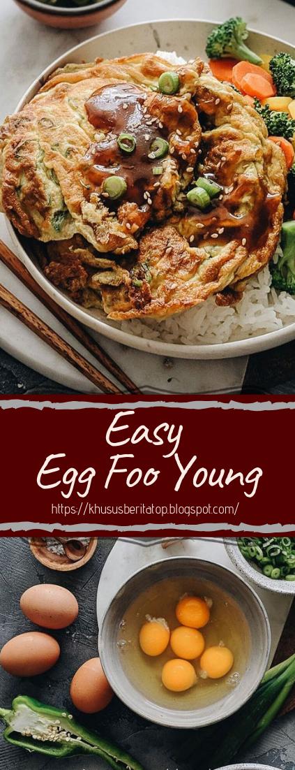 Easy Egg Foo Young #dinnerrecipe #food