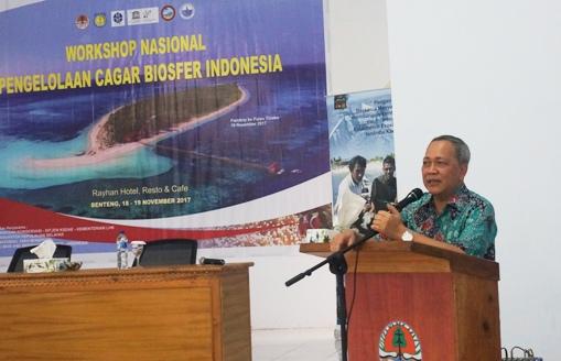 Dirjen KSDAE Buka Workshop Nasional, Pengelolaan Cagar Biosfer Indonesia Di Selayar