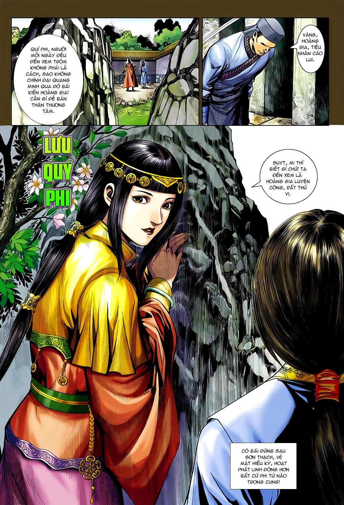 Anh Hùng Xạ Điêu anh hùng xạ đêu chap 75: hoàng thành cựu sự trang 17