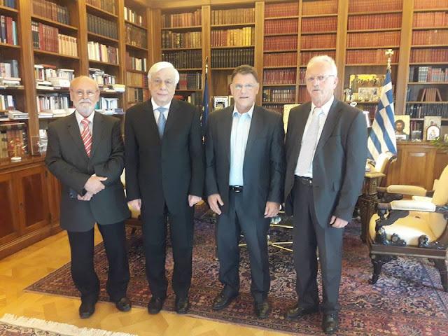 Συνάντηση της ΟΜΣΕ με τον Πρόεδρο της Ελληνικής Δημοκρατίας