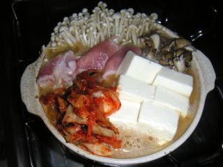 みそキムチ鍋の画像