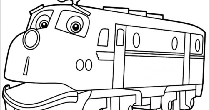 Chuggington Old Puffer Pete Coloring Pages Coloring Pages