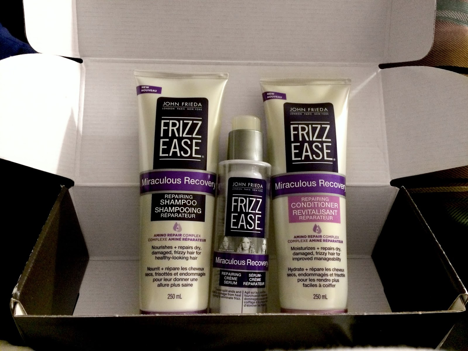John Frieda Frizz Ease Review   Le Northern Belle