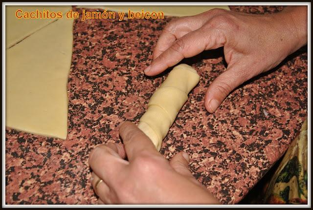 Cachitos venezolanos de jamón receta latinoamericana 06