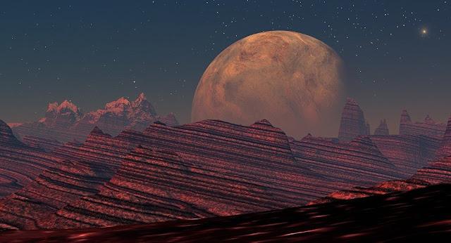 NASA edita fotos de Marte e outros planetas