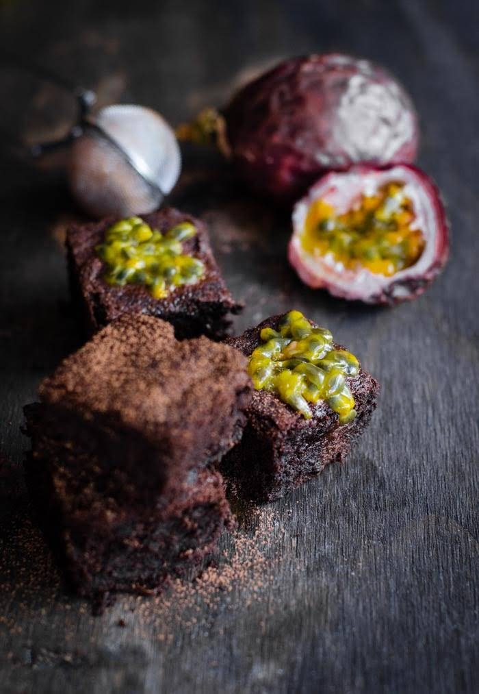 Chocolate Passionfruit Brownies