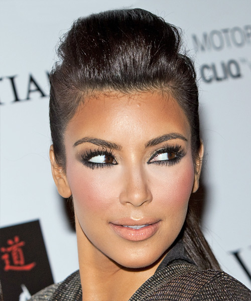 Kim Kardashian Wedding Hairstyles: Wedding Bride: Kim Kardashian Hairstyles