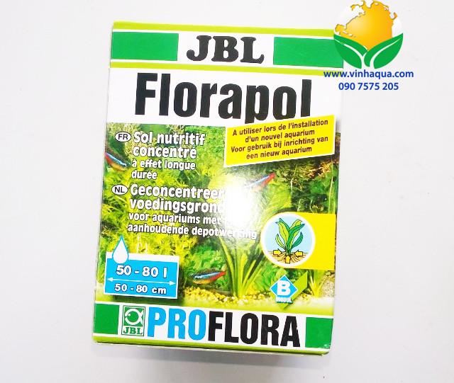 Phụ kiện thủy sinh - Phân nền trộn hồ thủy sinh JBL Florapol - hãng sản xuất: Đức