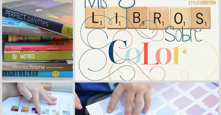 MIS 8 LIBROS SOBRE COLOR / Stylistinaction