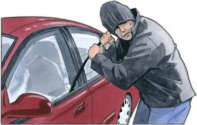 Veículo Gol é furtado em Faxinal