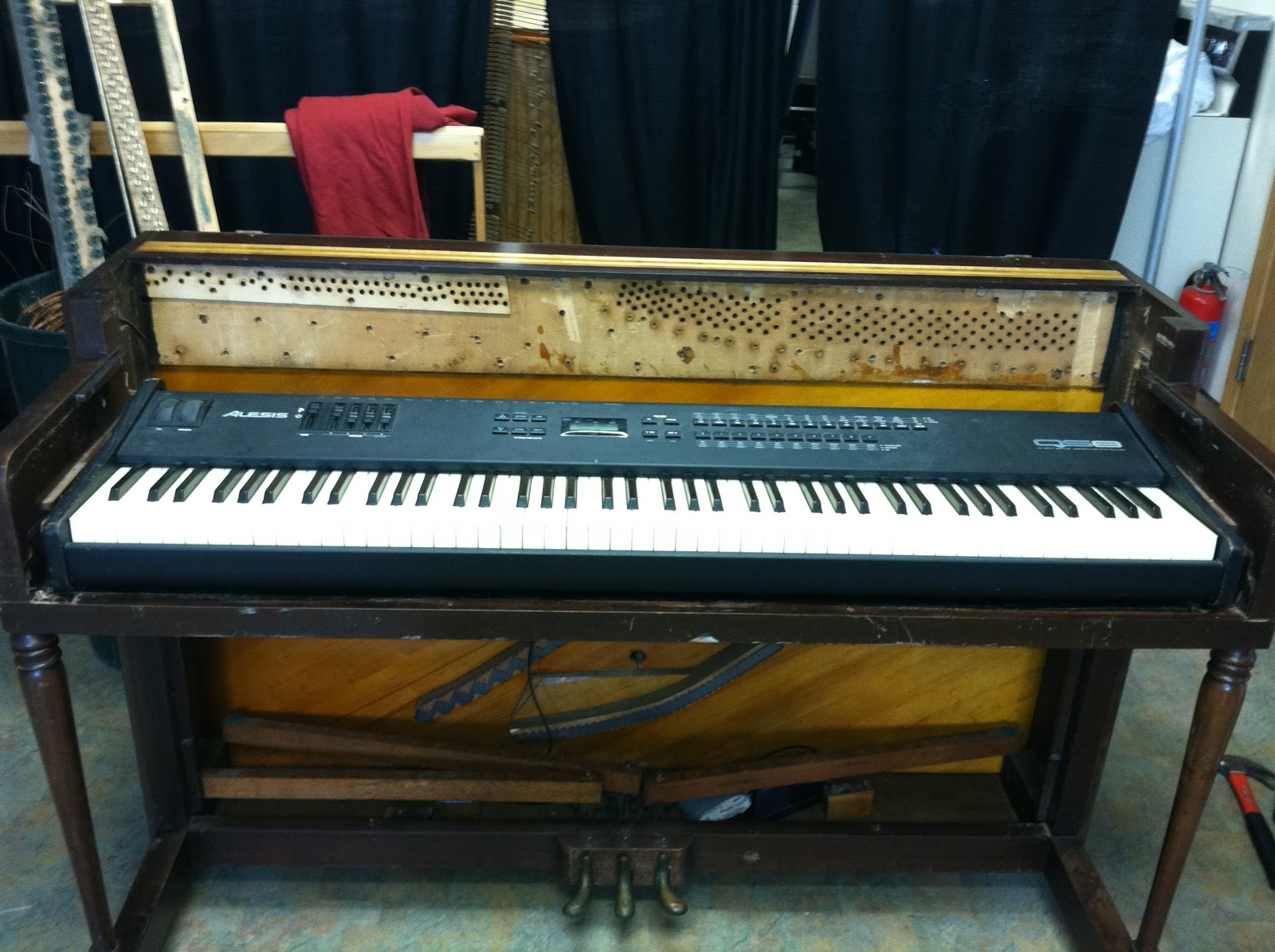 How to Gut a Piano (a lifelong dream of mine)   Milo Wilson