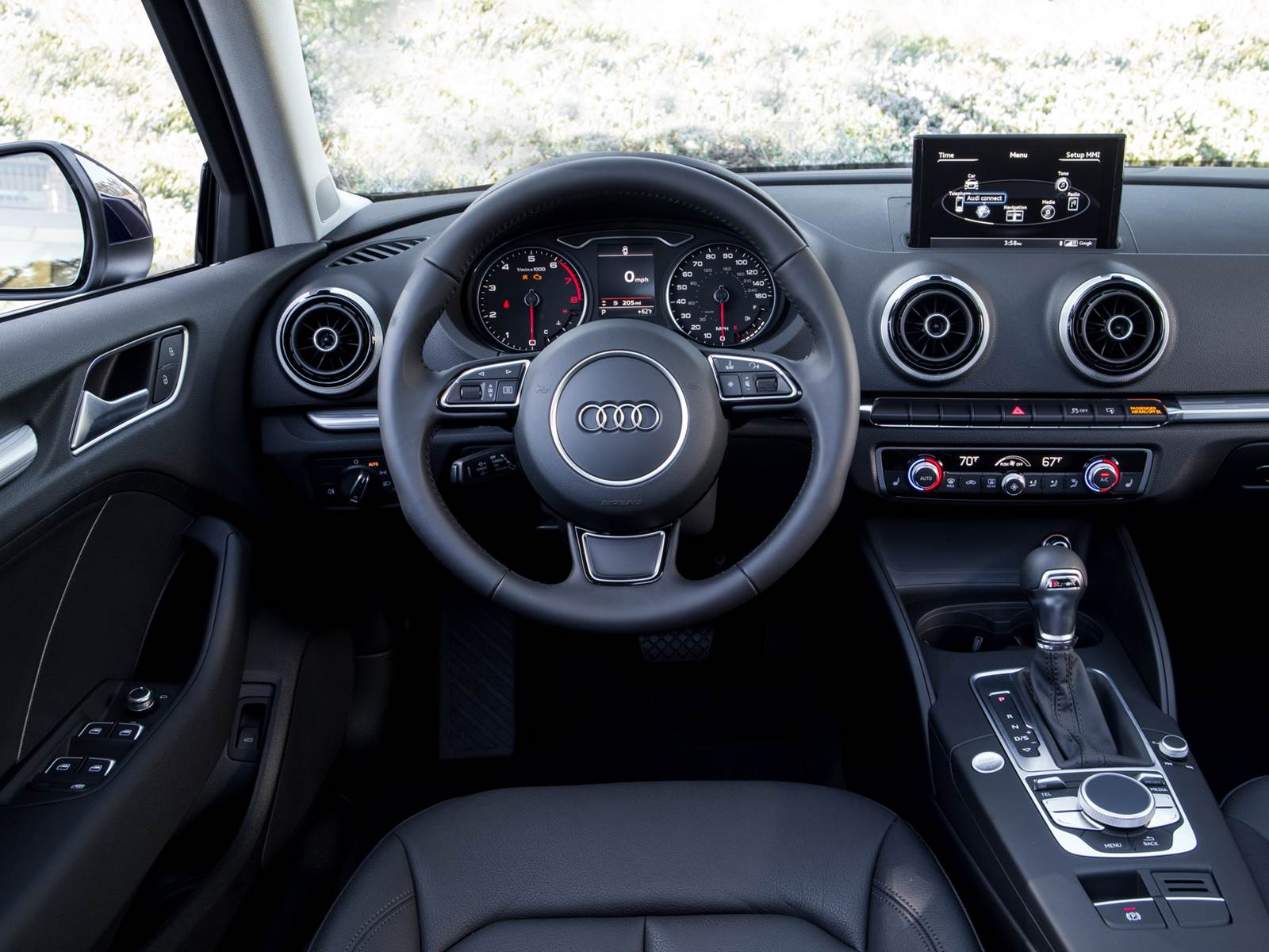 audi a3 sed 2 0 ambition 2016 itens de s rie performance car blog br. Black Bedroom Furniture Sets. Home Design Ideas