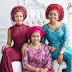Adesua Pose With Banky W's Mom & Sister (photo)