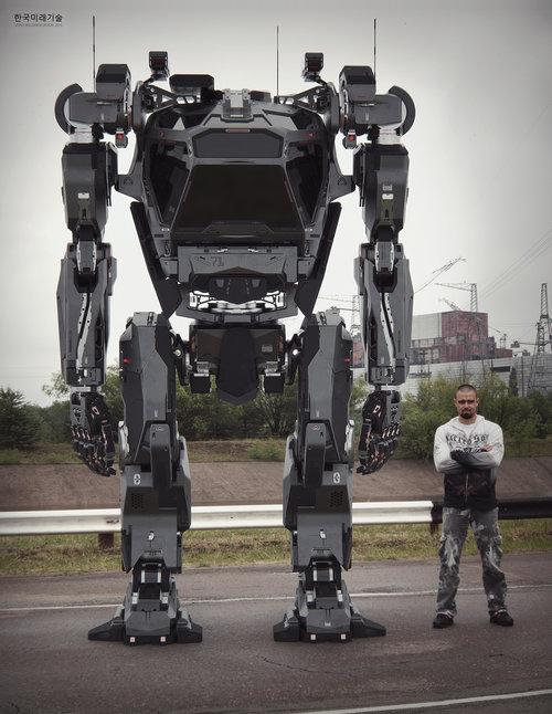 El impresionante robot coreano