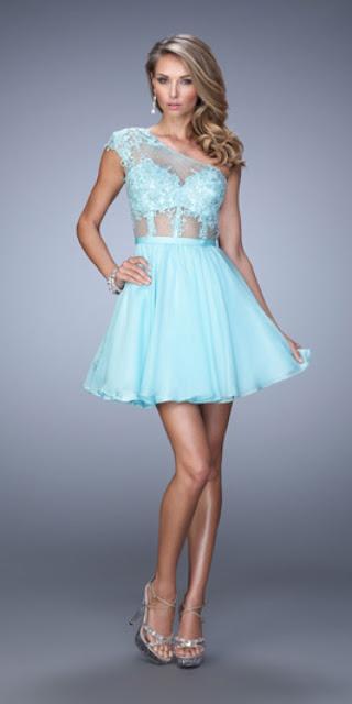 vestidos cortos con corset de noche