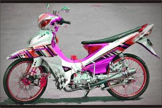 modifikasi jupiter z street racing
