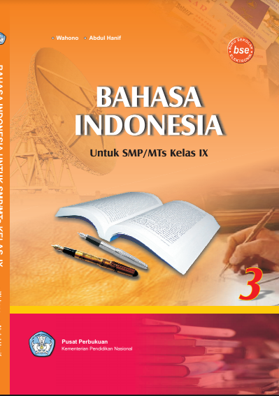 Download Buku Siswa KTSP SMP dan MTs Kelas 9 Berbahasa Indonesia
