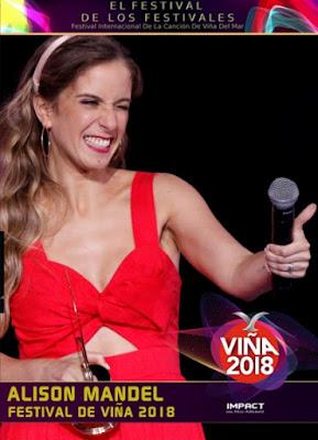 Alison Mandel Viña 2018 Custom HDRip Latino