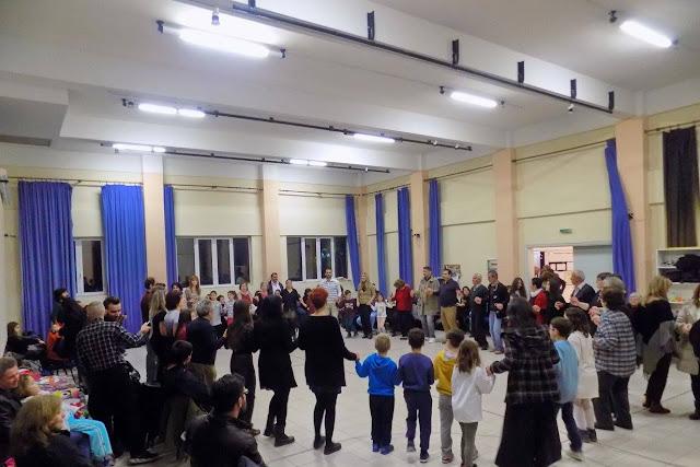 Την Χριστουγεννιάτικη γιορτή τους, πραγματοποίησαν οι Πόντιοι στη Λάρισα