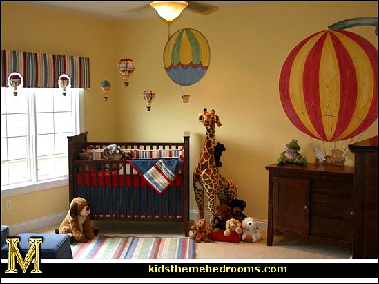 Decorating theme bedrooms - Maries Manor: Hot air balloon ...